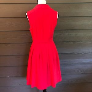Modcloth Dresses - Modcloth Dress Retro Vintage Inspired Tie Pink M